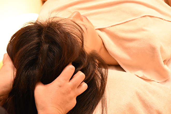 ベルソー 横浜(Berceau) 寝つきが悪い方におすすめのドライヘッドスパ