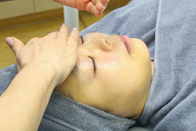 レイ(Beauty salon Rei) 角質ケアと一緒にオイルパックトリートメント