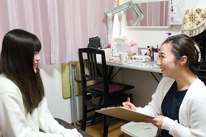 ベル(beauty salon Bell) お客さまに合わせた施術プラン