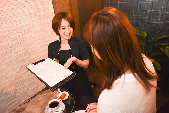 プライベートサロン スタイル(Style) 笑顔で、お客様が求めていることを引き出します