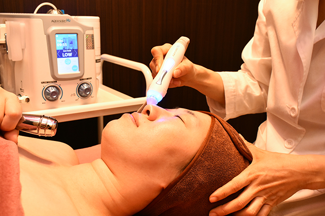 ココ ビューティー サロン(COCO Beauty Salon) 1番人気「水素ピーリング」