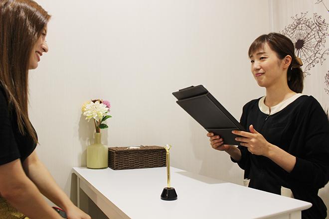 エスプリビューティー 横浜店(Esprit Beauty) 理想へ近づけるためにしっかりとヒアリング