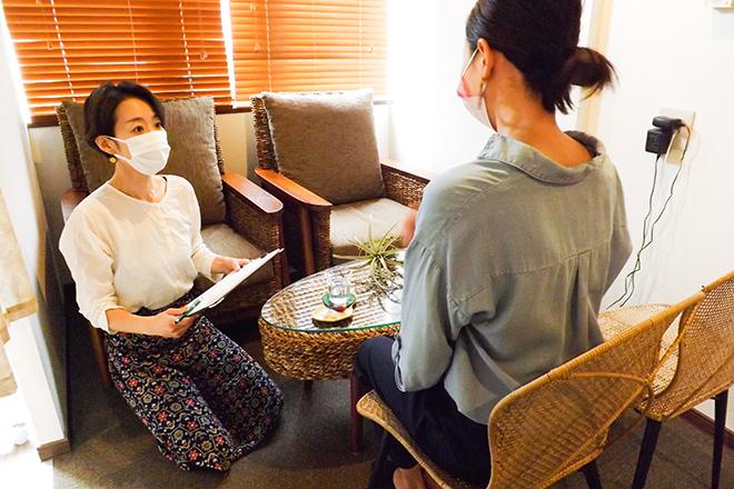 キラクル(ボディセラピー KIRAKURU) お客さまひとりひとりに寄り添ったヒアリング