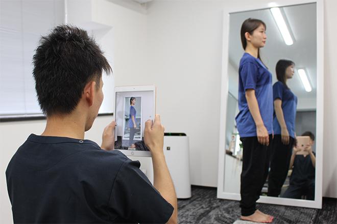ボデQ 横浜店 写真を撮影して施術後に比較