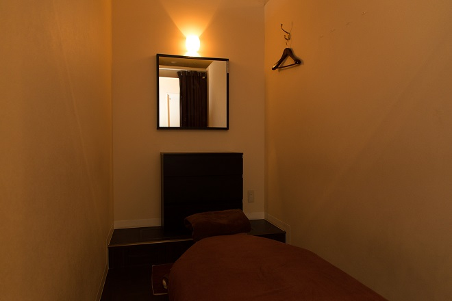 ベアハグ 二子玉川ライズSC店 ベアハグオリジナルベッドを採用