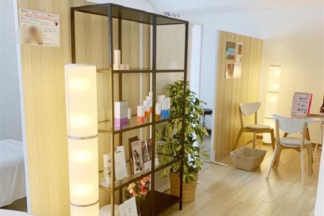ベルマーノ薬院店 明るく清潔感のある空間