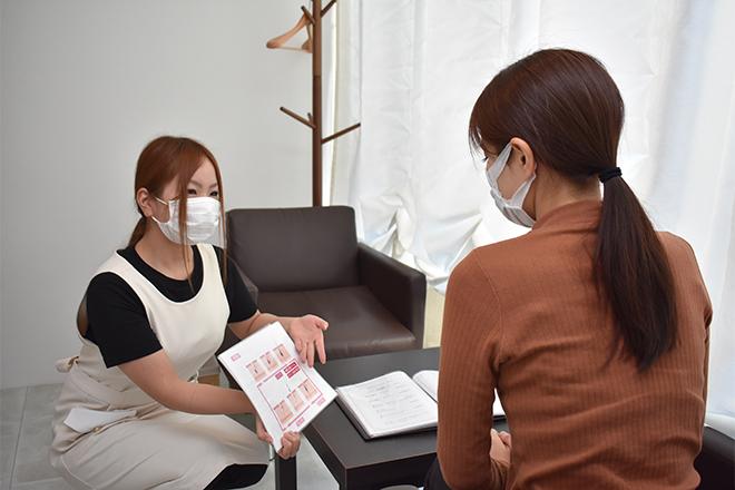 Private Salon Lala ご新規様も安心して施術を受けていただくために