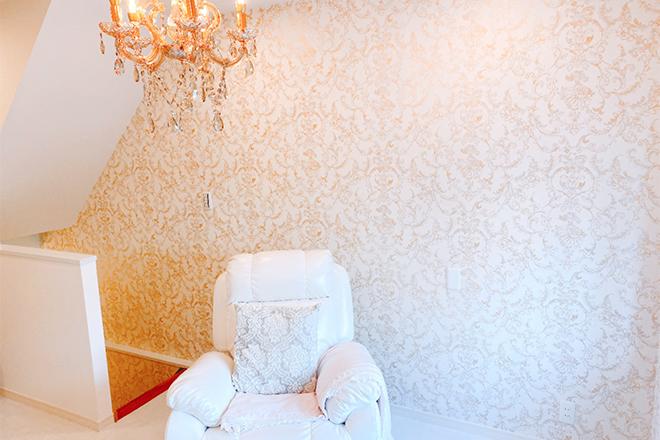 アクアビューティー 東川崎店(AQUA BEAUTY) 優雅さと可愛らしさを備えた空間です☆