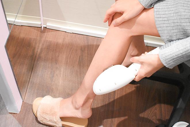 セルフビューティー銀座店(Self-Beauty) SHR方式の脱毛マシンを使用☆