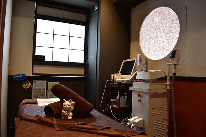 和テイスト×非日常的な雰囲気の完全個室