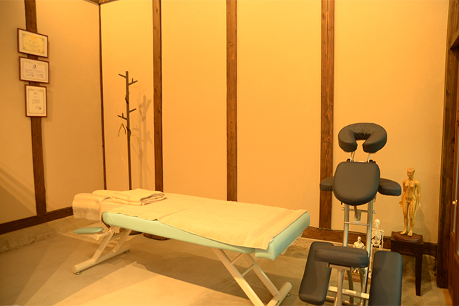 イノコー整体サロン 心がやすらぐ施術スペース