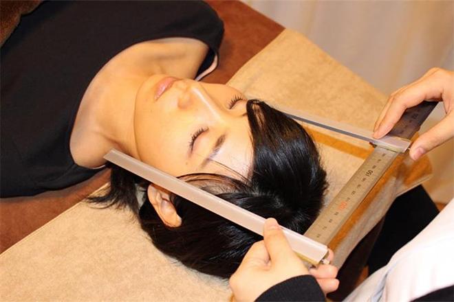 小顔科学研究所 福岡 天神院 数値化することでどれだけ変化したかがわかる!