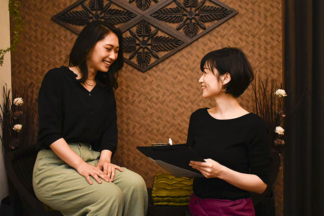 バーンラック 西新宿店(BaanRak) お客さまとの対話を大切にしています◎