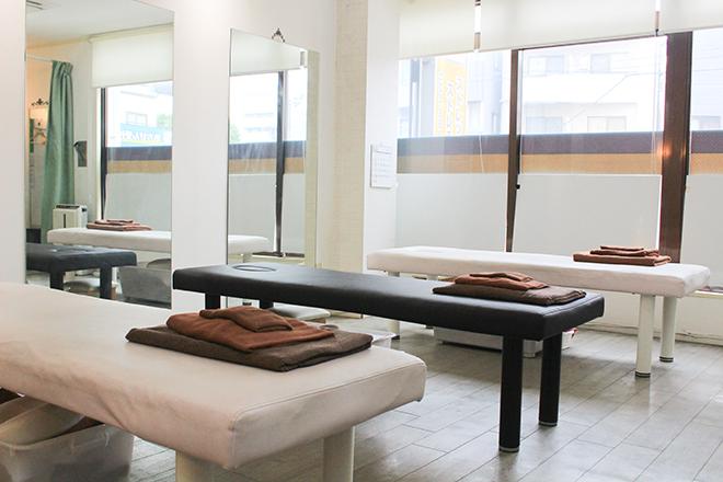 ストレチックス新大塚店 清潔感のある完全個室もご用意