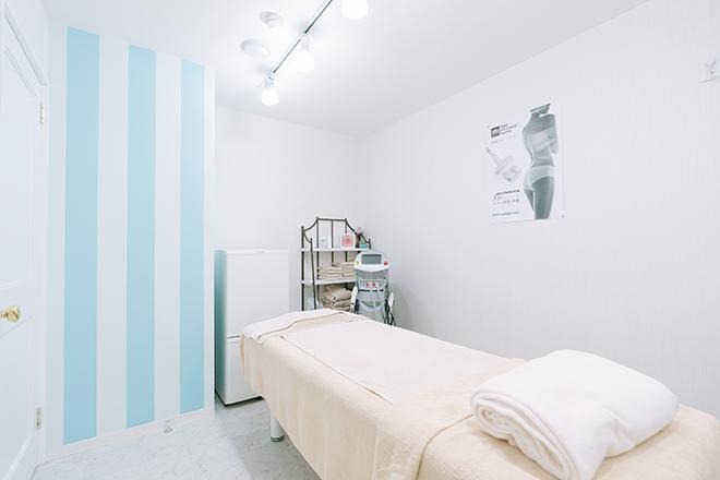 ビューティーサロン アンジュエール 完全個室◎清潔感あふれる施術スペース