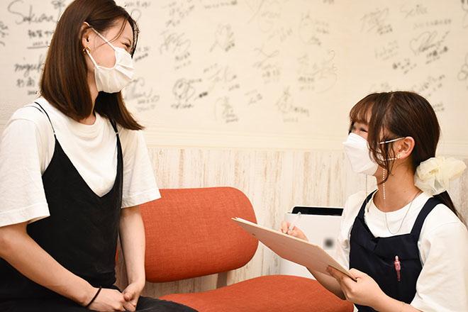 アンリミット 渋谷宮益坂店(Une limit) 目的・肌悩みに合った施術をお届け♪