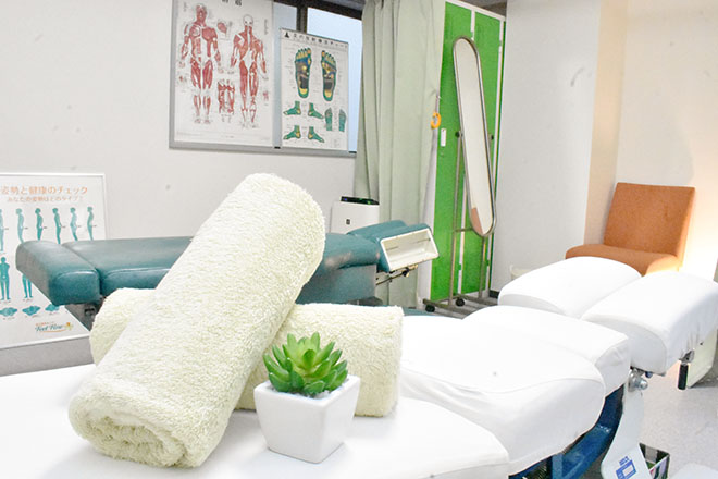 完全個室◎清潔感あふれる施術スペース