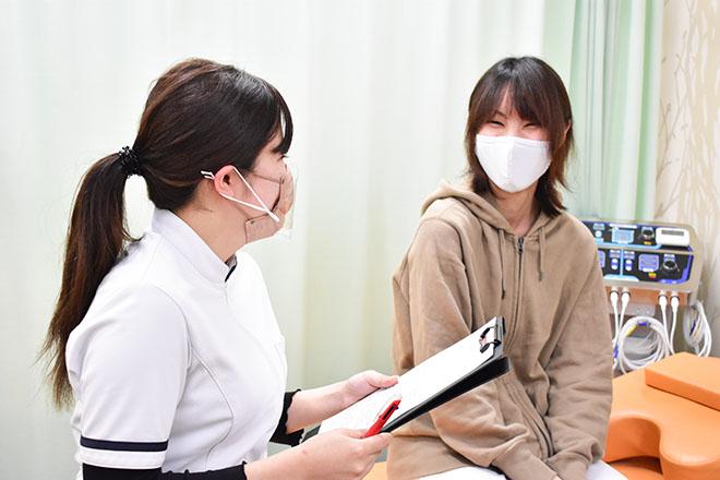こころ整体院 赤坂大名院 気軽に通える、アットホームで親しみやすい対応を