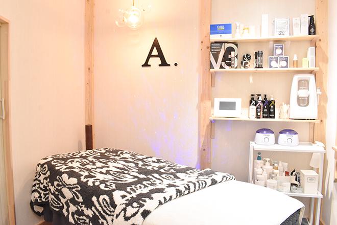エイジレスサロン エードット(ageless salon A.) プライベート空間で身体とお肌のメンテナンスを