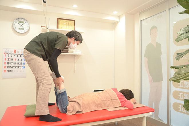 南茨木ベッショマコト整骨院 お身体の状態をチェック