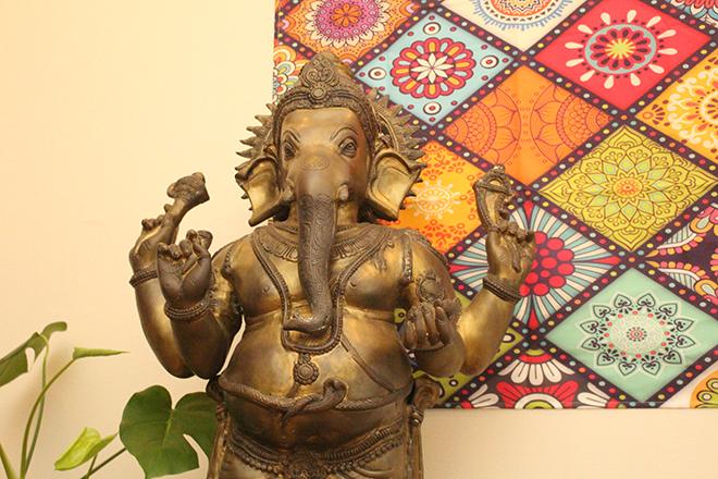 インドの神様ガネーシャがお出迎え!
