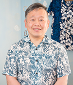 ハワイのおうちサロン マハロの家のスタッフ 松島努