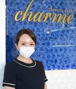 CHARMEのスタッフ 篠原愛華